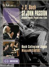 Film Johann Sebastian Bach. St. John Passion. Passione Secondo Giovanni