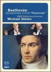 Ludwig Van Beethoven. Symphonies n. 4, 5, 6. Pastorale - DVD