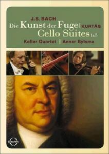 Johann Sebastian Bach. Die Kunst der Fuge. Cello Suites 1 & 5 - DVD