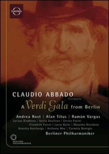 Claudio Abbado. A Verdi Gala from Berlin - DVD