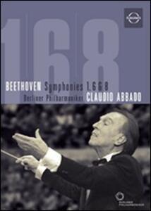 Ludwig Van Beethoven. Symphonies 1, 6 & 8 - DVD