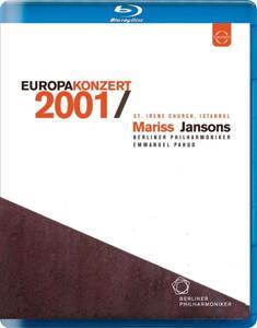 Europakonzert 2001 from Istanbul - Blu-ray