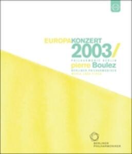 Europakonzert 2003 from Lisbon - Blu-ray