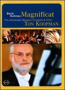 Ton Koopman. Magnificat. Johann Sebastian Bach - DVD