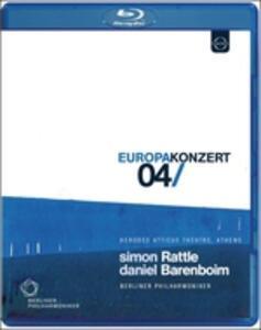 Europakonzert 2004. Athens - Blu-ray