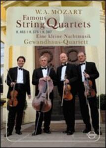 Wolfgang Amadeus Mozart. Famous String Quartets - DVD