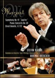 Wolfgang Amadeus Mozart. Symphony No. 40, Piano Concerto No. 20... - DVD