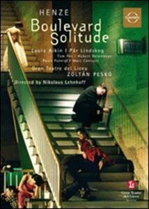 Hans Werner Henze. Boulevard Solitude - DVD