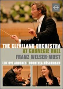 The Cleveland Orchestra at Carnegie Hall - DVD