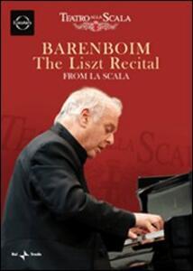 Daniel Barenboim. The Liszt Recital. From La Scala - DVD