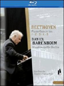 Daniel Barenboim. Beethoven Piano Concertos 1 - 5 - Blu-ray