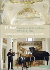 Johann Sebastian Bach. Sonatas for Violin and Piano BWV 1014-1019 - DVD