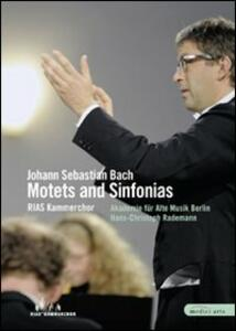Johann Sebastian Bach. Motets and Sinfonias - DVD