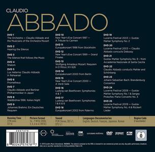 Claudio Abbado Edition (25 DVD) - 2