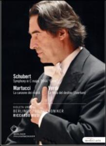 Giuseppe Verdi, Giuseppe Martucci, Franz Schubert. Riccardo Muti - DVD
