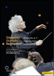 Stravinsky, Rachmaninov, Tchaikovsky - DVD