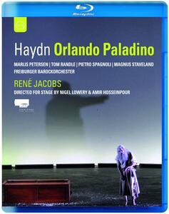 Franz Joseph Haydn. Orlando paladino di Nigel Lowery,Amir Hosseinpour - Blu-ray