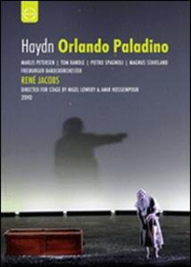 Franz Joseph Haydn. Orlando paladino (2 DVD) di Nigel Lowery,Amir Hosseinpour - DVD