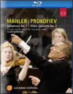 Gustav Mahler. Symphony No. 1 - Sergey Prokofiev: Piano Concerto No. 3 - Blu-ray