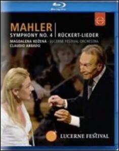 Mahler. Symphony No. 4 - Rückert Lieder - Blu-ray
