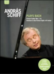 Andras Schiff Plays Bach. French Suite nn.1-6 BWV 812-817, Concerto italiano BWV (2 DVD) - DVD