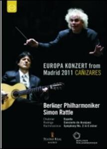 Europa Konzert from Madrid 2011 - DVD