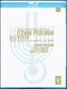 Itzhak Perlman conducts the Israel Philharmonic Orchestra - Blu-ray