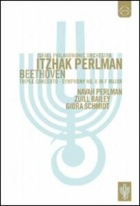 Itzhak Perlman conducts the Israel Philharmonic Orchestra - DVD