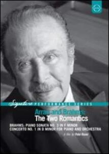 Arrau and Brahms: The Two Romantics - DVD