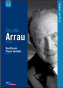 Claudio Arrau. Beethoven, Piano Sonatas (2 DVD) - DVD