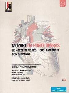Mozart. Da Ponte Operas (6 DVD)