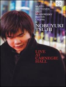 Tsujii Noboyuki. Live at Carnegie Hall - DVD