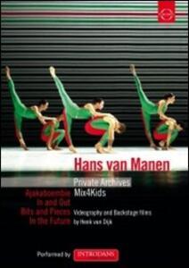 Hans van Manen. Private Archives - DVD