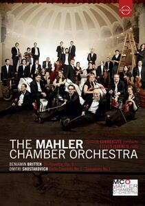 Teodor Currentzis conducts The Mahler Chamber Orchestra - DVD