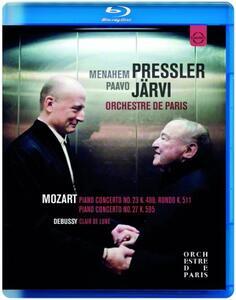Menahem Pressler Paavo Järvi. Orchestre de Paris - Blu-ray