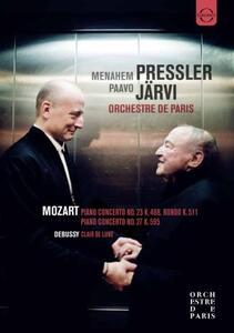 Menahem Pressler Paavo Järvi. Orchestre de Paris - DVD