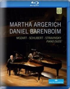 Martha Argerich & Daniel Barenboim: Piano Duos - Blu-ray