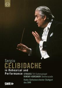 Sergiu Celibidache. In Rehearsal And Performance - DVD