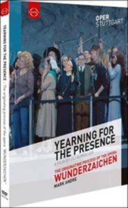 Yearning for the Presence - Wunderzaichen di Mark Andre - DVD