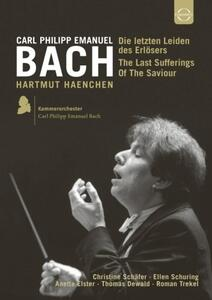 Carl Philipp Emanuel Bach. Le ultime sofferenze del Salvatore - DVD