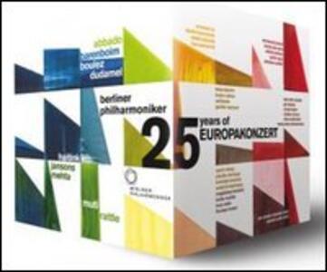 25 Years of Europakonzert (25 DVD) - DVD