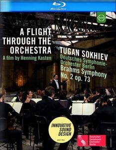 A Flight through the Orchestra. Sokhiev. Deutsches Symphonie di Henning Kasten - Blu-ray
