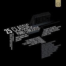 25 Classic Piano Concertos (Box Set) - CD Audio + DVD di Martha Argerich,Yuja Wang,Daniel Barenboim