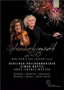 Silvesterkonzert. New Year's Eve Concert 2015 - Blu-ray