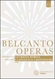Belcanto operas. San Francisco Opera - DVD
