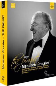 Menahem Pressler. The Pianist (4 DVD) - DVD