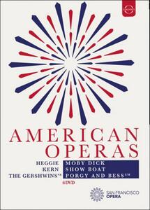 American Operas. Moby Dick. Show Boat. Porgy & Bess (6 DVD)