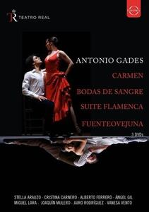 Spanish Dances from the Teatro Real (3 DVD) - DVD