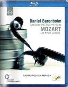 Daniel Barenboim plays Mozart Piano Concertos - Blu-ray