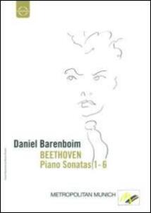 Daniel Barenboim plays Beethoven Piano Sonatas Vol.1 - DVD